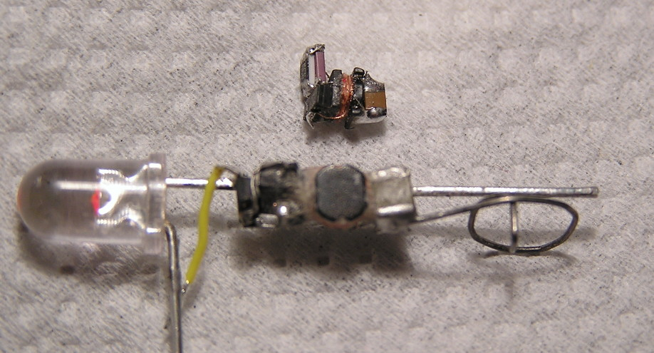 tiny led earrings are a miniaturization tour de force hackaday. Black Bedroom Furniture Sets. Home Design Ideas